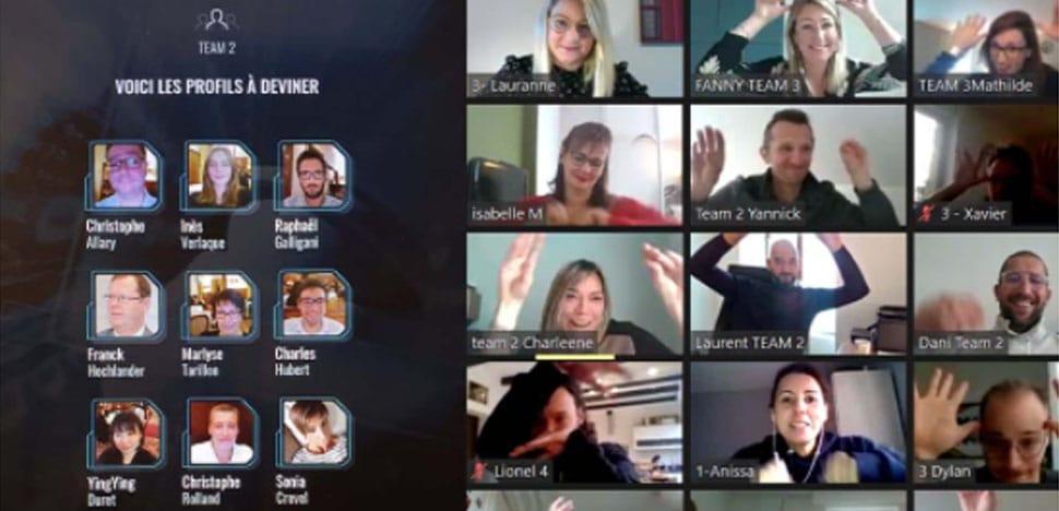 Team building en ligne qui est qui